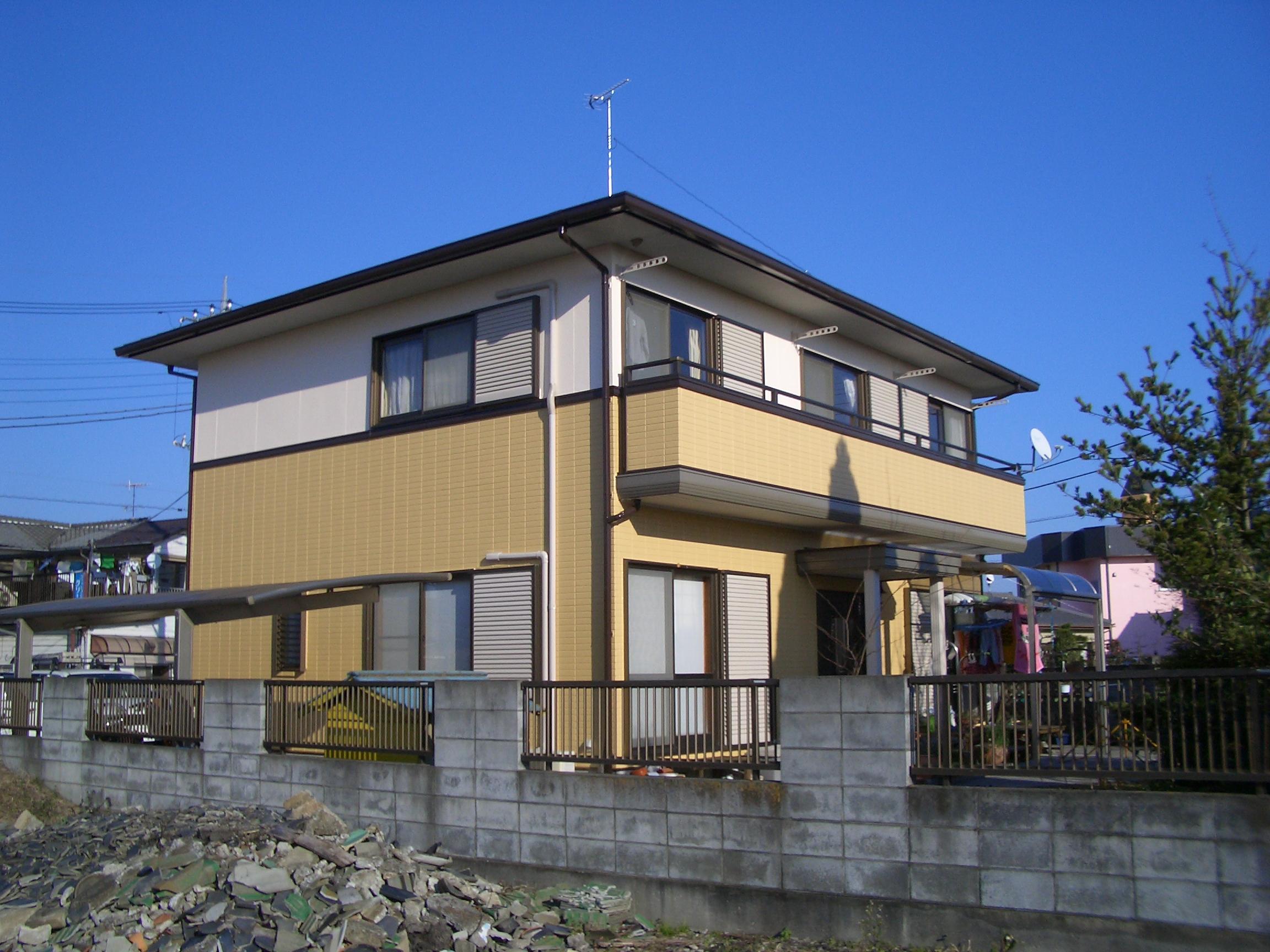 住宅塗装改修工事