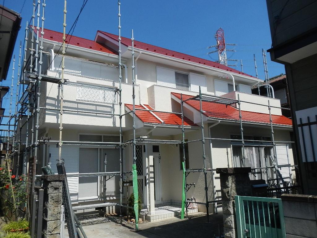 住宅外壁改修工事