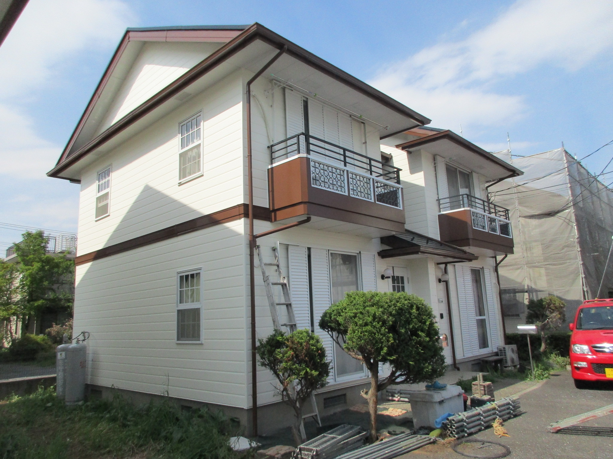 集合住宅塗装改修工事