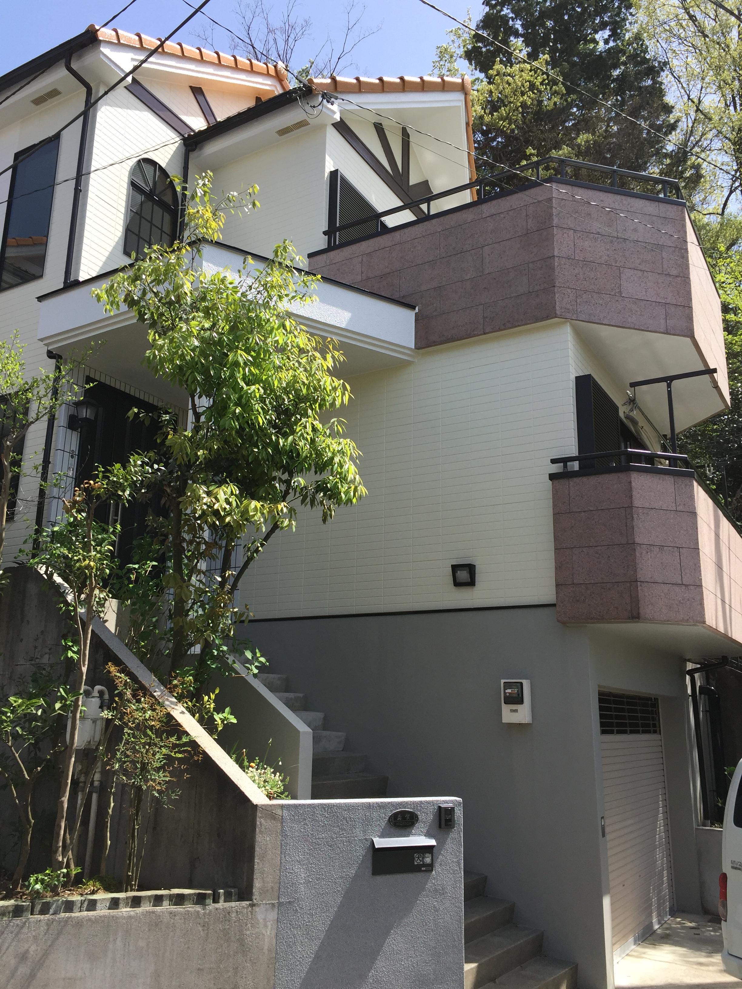 住宅 外装遮熱塗装工事