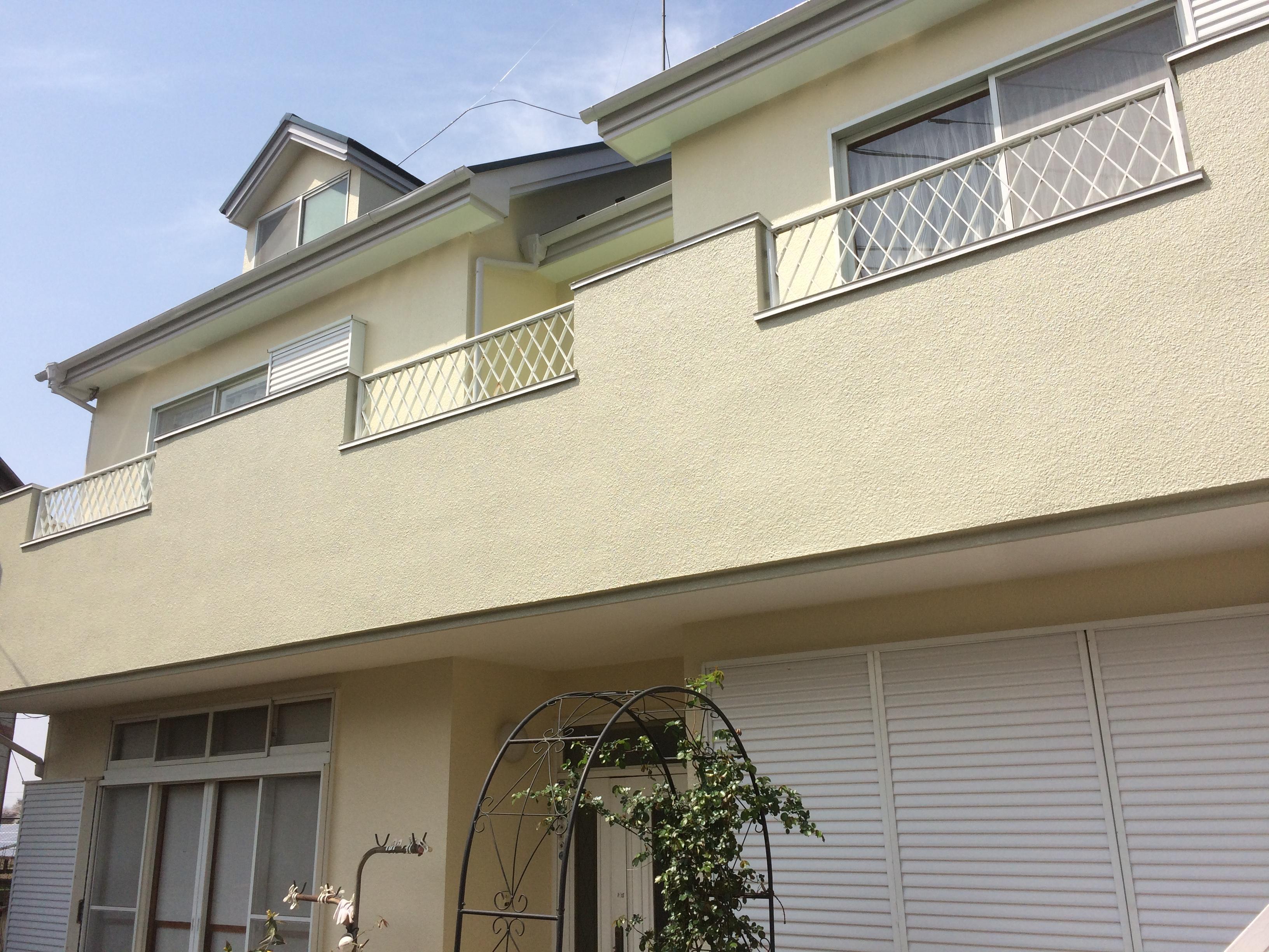 住宅 外部リニューアル塗装工事