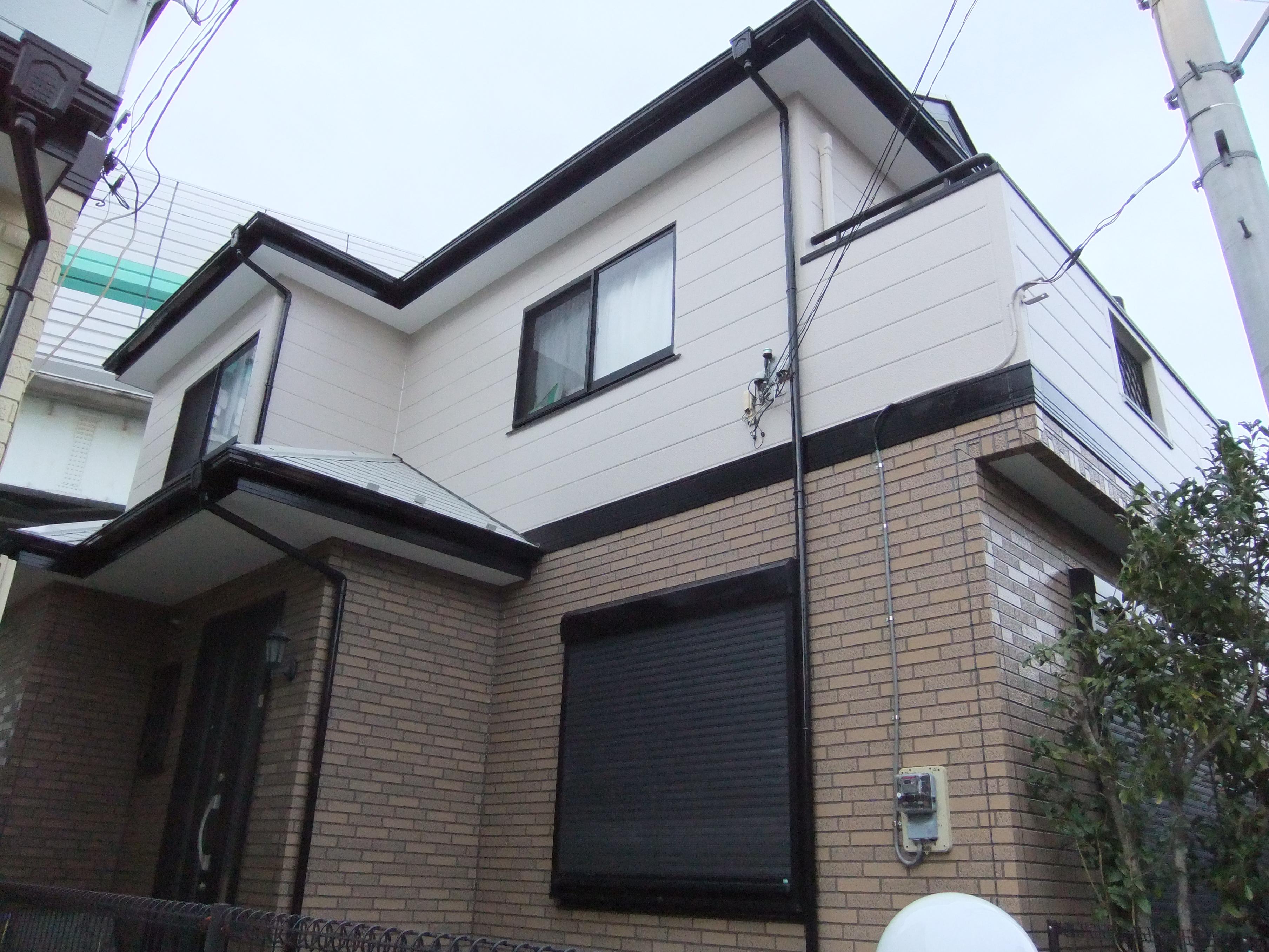 埼玉県さいたま市西区 戸建住宅 屋根外壁塗装
