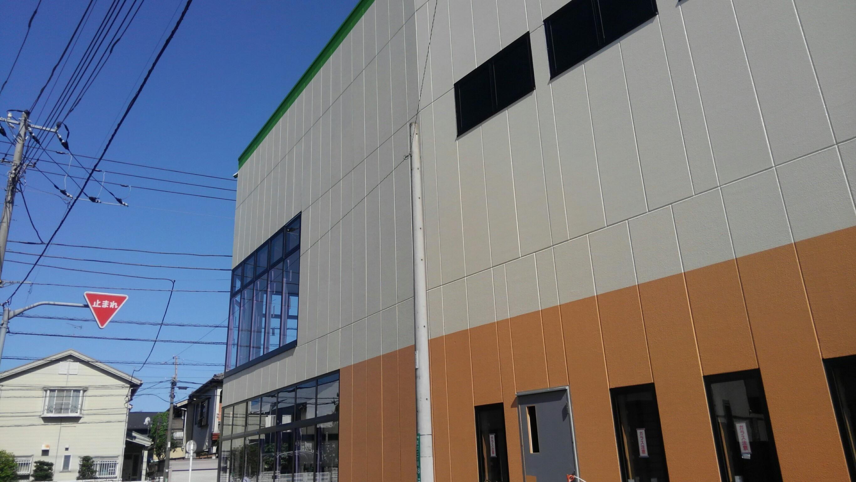 商業施設新築塗装工事