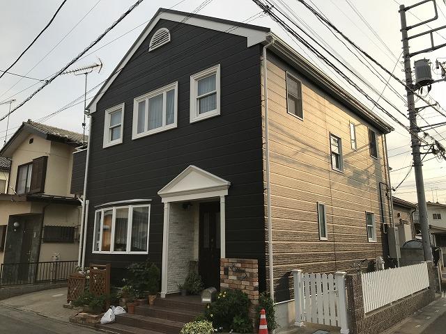 【改修工事】戸建住宅 外装改修工事