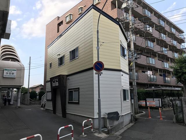 【塗替え塗装工事】木造2階建て商業施設